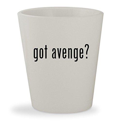 got avenge? - White Ceramic 1.5oz Shot Glass (Shot Glass Captain America)