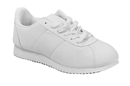 Gnd Kvinner Klassisk Sneaker # 1701 Hvit