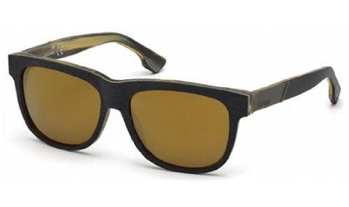 Amazon.com: Diesel dl0085 anteojos de sol color 05 G: Clothing