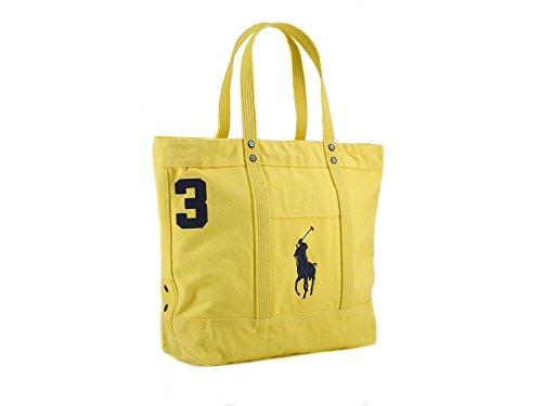 Polo Ralph Lauren Large Pony Tote Bag - Ralph Bag Lauren Yellow
