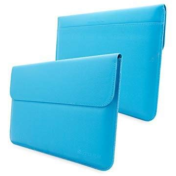Snugg Leather Sleeve Case for Microsoft Surface Pro 3 Cyan from Snugg