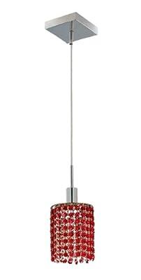 Elegant Lighting Mini 8-Inch High 1-Light Chandelier