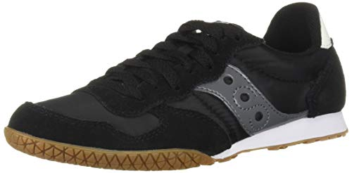 Saucony Originals Women's Bullet Sneaker Black/Gum 10 M US