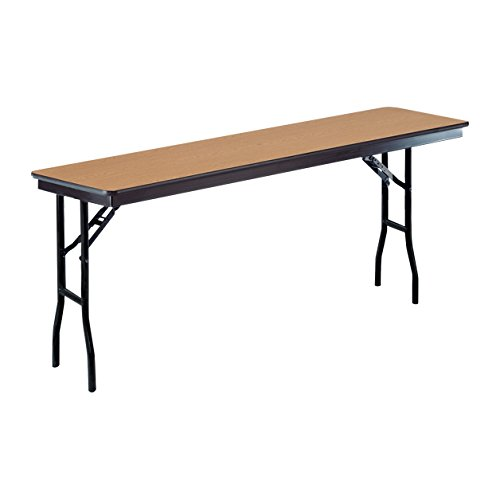 ucts 818EF-OAK High Pressure Laminate/Plywood Seminar Table, 18