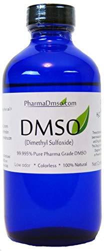 DMSO 99.995% Pharmaceutical Grade 8oz BPA Fee Glass