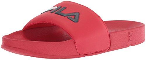Fila Men's Drifter Sport Sandal, Red Navy/White, 11 Medium US