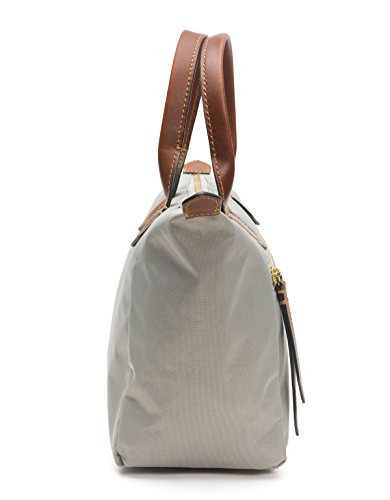 Handbag Ivy FRYE Satchel Small Grey Light Nylon fdRIw4