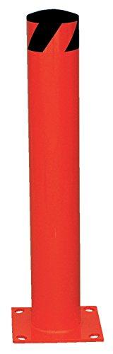 Vestil BOL-42-5.5-RED Steel Pipe Safety Bollard, 42