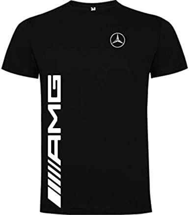 Camiseta Mercedes-Benz AMG Calidad, Fabricado Y ENVIADO Desde ESPAÑA Regalo Navidad (Oro): Amazon.es: Ropa y accesorios