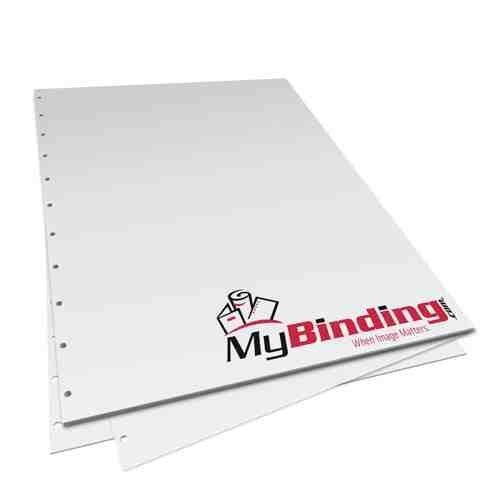 24lb Velobind 11 Hole Pre-Punched Binding Paper - 250 Sheets (8.5