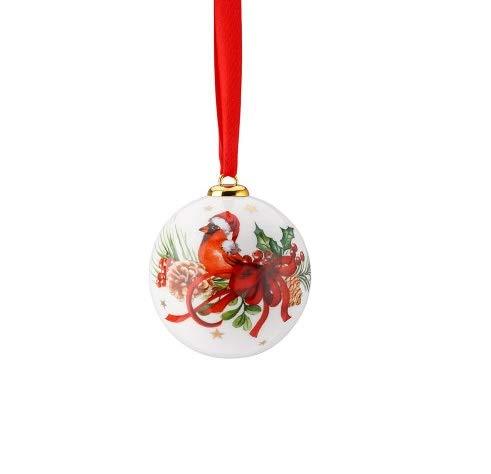 - Hutschenreuther Cozy Winter Porcelain Ball Small Cardinal Diameter 6 cm