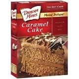 Duncan Hines Moist Deluxe Caramel Cake Mix 18.25oz - 6 Unit Pack