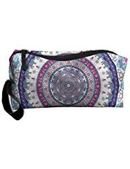 Protable Indian Nepal Bohemian Hippie Hippy Women Pouch Handbag Cosmetics Bag Case Purse Travel&home Portable Make-up Receive Bag