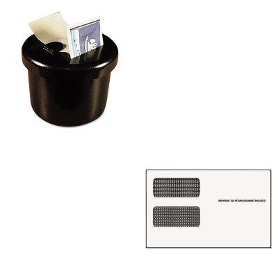 KITLEE40100TOP2222 - Value Kit - Tops Double Window Tax Form Envelope/1099R/Misc Forms (TOP2222) and Lee Ultimate Stamp Dispenser (LEE40100) by Tops