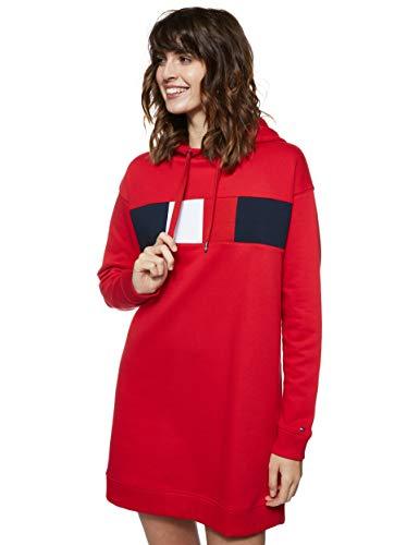 Tommy Hilfiger Women's Stella Hooded Long Sleeve Dresses