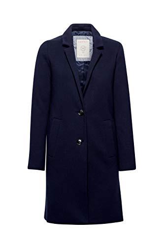 Esprit Para Mujer Abrigo navy Azul 400 Zq8OZvn