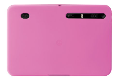Motorola Pink Keyboard - Motorola Protective Gel Case for MOTOROLA XOOM Pink (Motorola Retail Packaging)