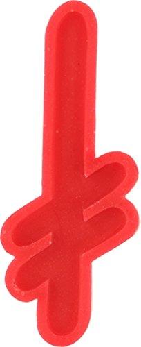 Deathwish Skateboards Gang Logo Curb Red Skate ()