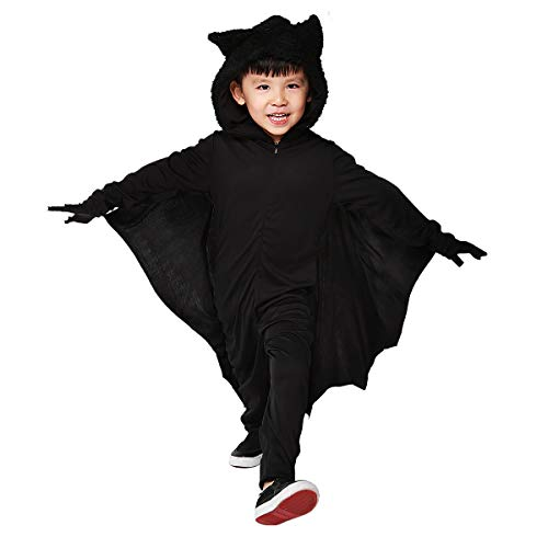 Halloween Bat Costumes for Kids with Gloves and Connect Wing (Small)