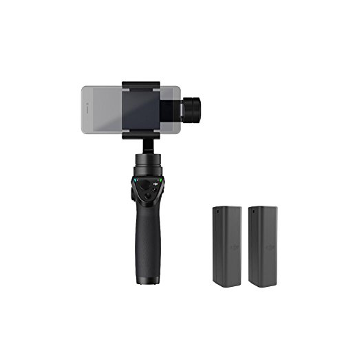 DJI OSMO Mobile Refurbished Handheld Stabilized Camera Gimbal (Certified Refurbished)