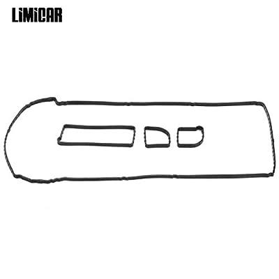 LIMICAR Valve Cover Gaskets Set For 2005-2017 Ford Escape 2.3L 2.5L 2004-2011 Ford Focus 2.0L 2.3L 2004-2014 Mazda 3 2.0L 2.3L 2.5L VS50639R1 ET367S