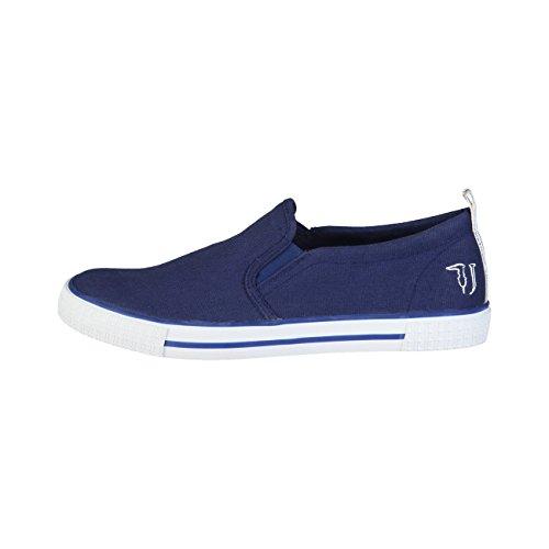 Marrone Jeans Sportiva Blue Blu e 77S519 Mocassini Uomo Trussardi Azzurro Scarpa 7qgRpS