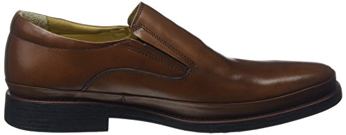 Steptronic Heren Andrea Formele Slip-on Schoenen Cognac
