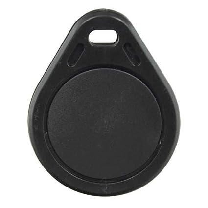 Llavero Tag de proximidad RFID-Tag-Black: Amazon.es ...