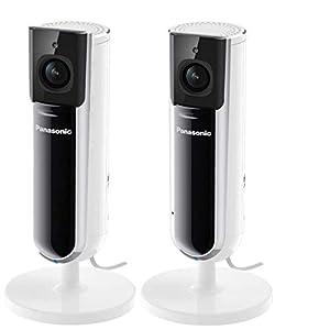 Flashandfocus.com 31YtaWR9hAL._SS300_ HomeHawk by Panasonic Indoor Full HD 1080p Home Monitoring Camera 2 Pack (Renewed)