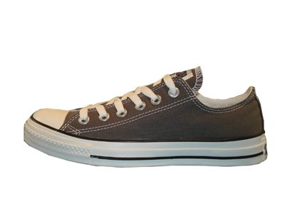 Converse Unisex Chuck Taylor All Star Low Top Sneakers -  Charcoal - 7.5 B(M) US Women / 5.5 D(M) US ()
