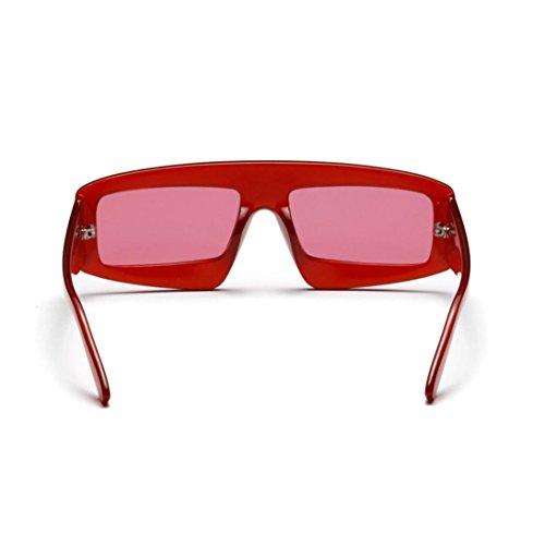 de NEEDRA sol Gafas hombre Rojo para 5xq0w7HO