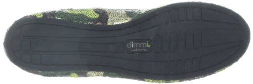 dimmi Womens Relief Slip-On Loafer Camo Sequin iPXP9