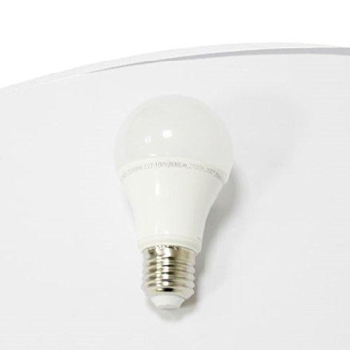 BOMBILLA LED A60 E27 DE PERA MATE DISIPADOR TERMOPLÁSTICO, RESISTENTE Y LIGERA-ALTO-BAJO CONSUMO, LUZ BLANCA DE 2700 K.: Amazon.es: Iluminación