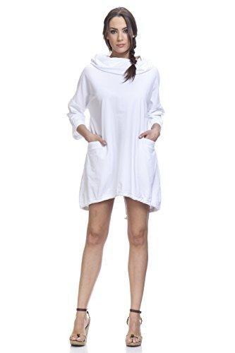 TANTRA, Vestido Casual para Mujer Blanco