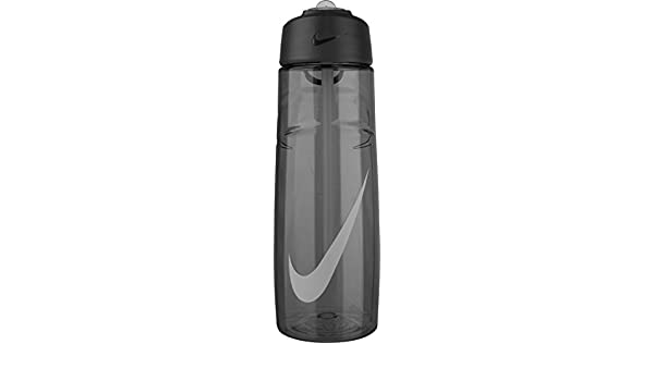 0b23f3d017 Amazon.com : T1 Flow Swoosh Water Bottle 24oz - Anthracite : Sports ...