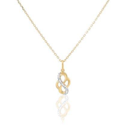 HISTOIRE D'OR - Collier Or Et Diamants - Femme - Or jaune 375/1000 - Taille Unique