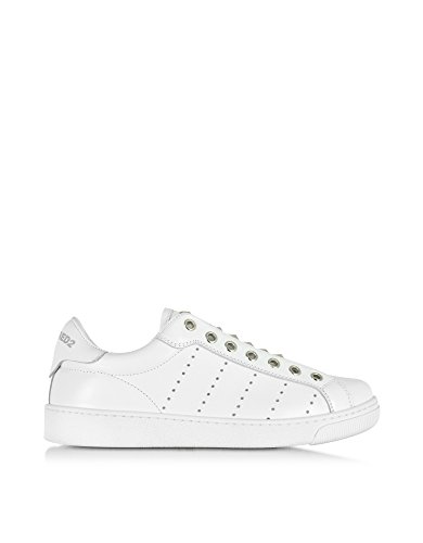 Dsquared2 Women's W16k5115381062 White Leather Sneakers
