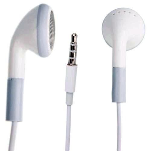 FYL For BlackBerry 3.5mm Stereo Headset with Microphone White Wired Earphones Buds