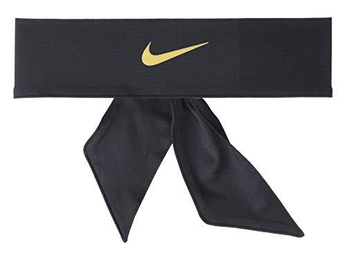 Nike Dri-Fit Head Tie 2.0 Black/Metallic Gold