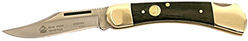 Puma SGB Bear Jacaranda Wood Lockback Folding Pocket Knife