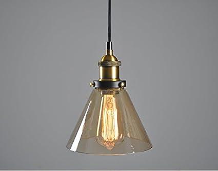 Kronleuchter Amerikanisch ~ Vintage industrie nordic amerikanisch glas lampeschirm kreative