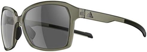 Adidas ad 45 5500 aspyr Fashion Lunettes de soleil pour femme Gris olive mat