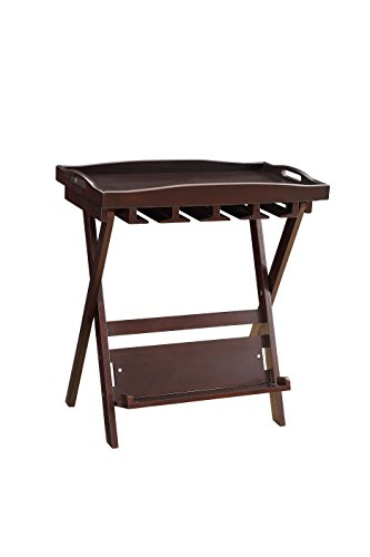 Cheap Acme Furniture Acme 97376 Westry Folding Tray Table, Espresso, One Size