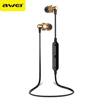 AWEI A990BL auricular inal¨¢mbrico bluetooth auriculares bluetooth deporte auricular manos libres con micr