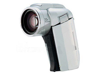 Sanyo Xacti HD1000 4MP MPEG4 High Definition 1080i Camcorder with 10x Optical Zoom (Silver)