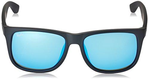 ban 4165f Rb Ray Justin Rubber Sunglasses Black Aq4dw7