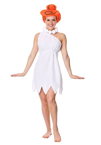 The Flintstones Plus Size Wilma Flintstone White Costume Plus]()