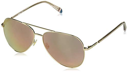 Fossil Fos 3074/s Aviator Sunglasses Gold 61 mm