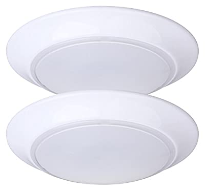 LIT-PaTH 7.5 Inch Mini LED Ceiling Light, LED Flush Mount, 11.5W (75W Equivalent), Dimmable, 800 Lumen, ETL and ES Qualified