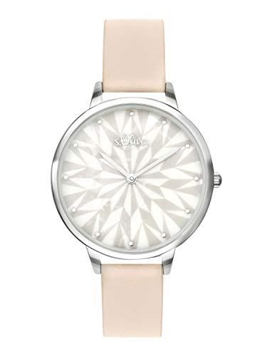 s.Oliver Time Womens Analogue Quartz Watch with PU Strap SO-3577-LQ
